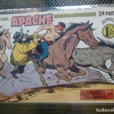 Tebeos: APACHE Nº 62 - ORIGINAL- EDT. MAGA 1955 ( M-5). Lote 131732158
