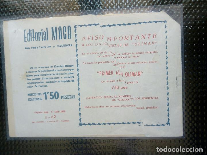 Tebeos: APACHE Nº 62 - ORIGINAL- EDT. MAGA 1955 ( M-5) - Foto 2 - 131732158