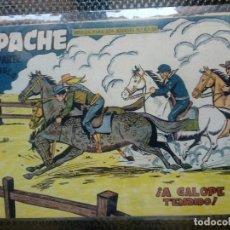 Tebeos: APACHE Nº 63 - ORIGINAL- EDT. MAGA 1955 ( M-5). Lote 131732994