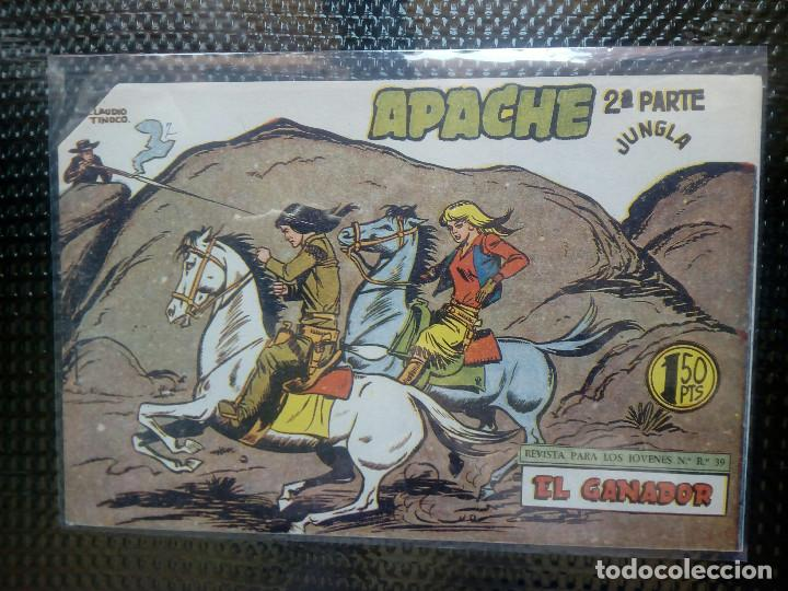 APACHE Nº 64 - ORIGINAL- EDT. MAGA 1955 ( M-5) (Tebeos y Comics - Maga - Apache)