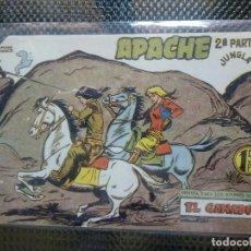 Tebeos: APACHE Nº 64 - ORIGINAL- EDT. MAGA 1955 ( M-5). Lote 131733650