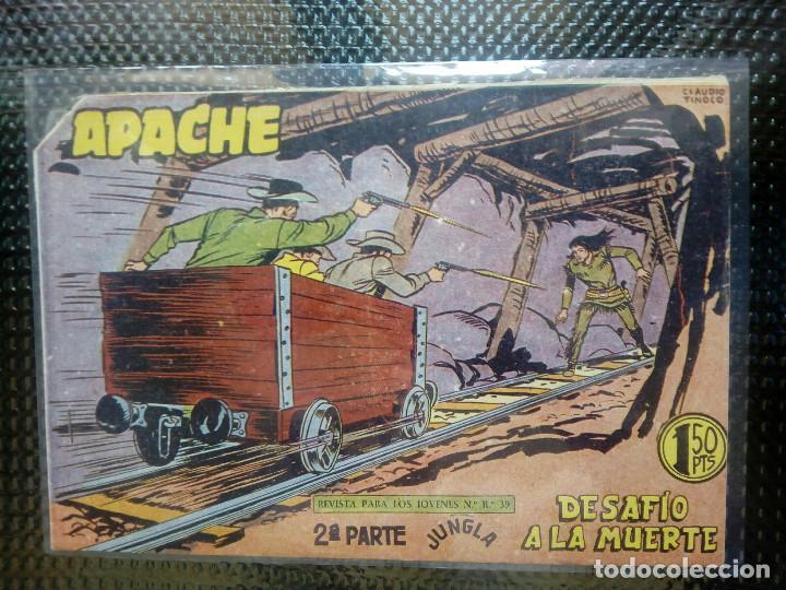 APACHE Nº 65 - ORIGINAL- EDT. MAGA 1955 ( M-5) (Tebeos y Comics - Maga - Apache)