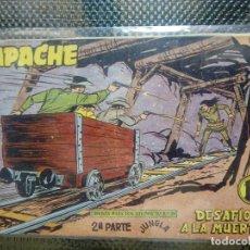 Tebeos: APACHE Nº 65 - ORIGINAL- EDT. MAGA 1955 ( M-5). Lote 131734178