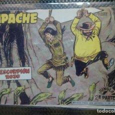 Tebeos: APACHE Nº 69 - ORIGINAL- EDT. MAGA 1955 ( M-5). Lote 131734694