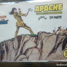 Tebeos: APACHE Nº 70 - ORIGINAL- EDT. MAGA 1955 ( M-5). Lote 131735990