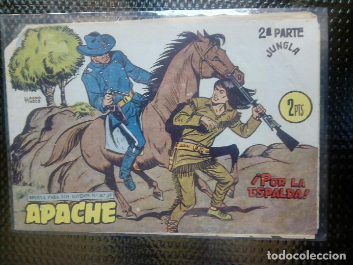 APACHE Nº 71 - ORIGINAL- EDT. MAGA 1955 ( M-5) (Tebeos y Comics - Maga - Apache)