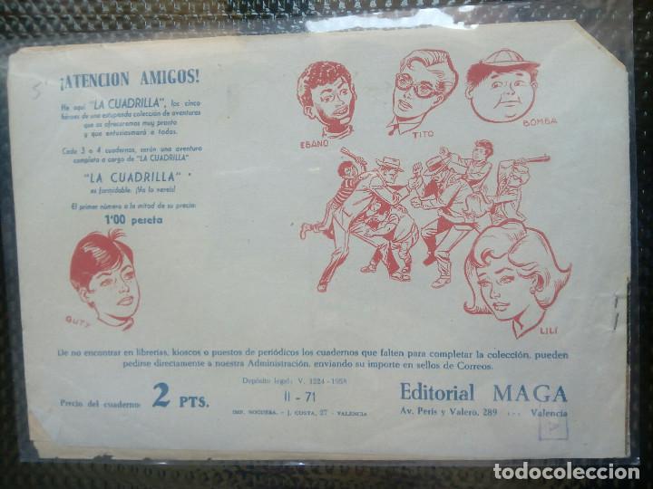Tebeos: APACHE Nº 71 - ORIGINAL- EDT. MAGA 1955 ( M-5) - Foto 2 - 131737702