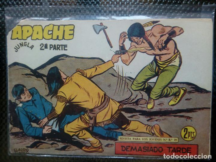 APACHE Nº 74 - ORIGINAL- EDT. MAGA 1955 ( M-5) (Tebeos y Comics - Maga - Apache)