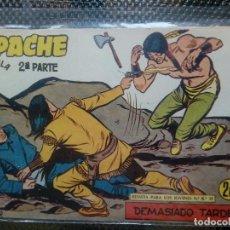 Tebeos: APACHE Nº 74 - ORIGINAL- EDT. MAGA 1955 ( M-5). Lote 131738438