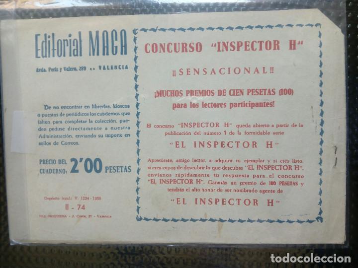 Tebeos: APACHE Nº 74 - ORIGINAL- EDT. MAGA 1955 ( M-5) - Foto 2 - 131738438