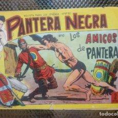 Tebeos: PANTERA NEGRA Nº 10 - ORIGINAL MAGA 1955 ( M-5 ). Lote 131779366
