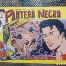 Tebeos: PANTERA NEGRA Nº 11 - ORIGINAL MAGA 1958 ( M-5 ). Lote 131779930