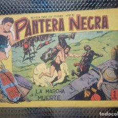 Tebeos: PANTERA NEGRA Nº 15 - ORIGINAL MAGA 1955 ( M-5 ). Lote 131780694