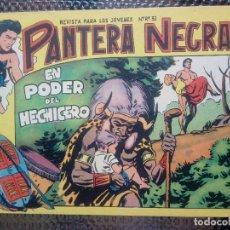 Tebeos: PANTERA NEGRA Nº 53 - ORIGINAL MAGA 1958 ( M-5 ). Lote 131781422