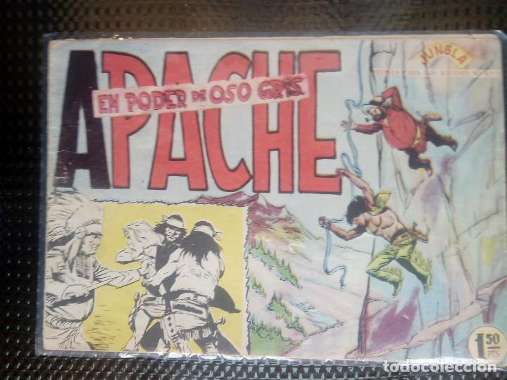 APACHE Nº 3 - ORIGINAL- EDT. MAGA 1958 ( M-5) (Tebeos y Comics - Maga - Apache)