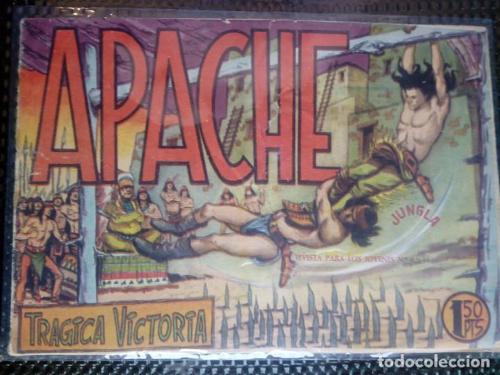 APACHE Nº 6 - ORIGINAL- EDT. MAGA 1958 ( M-5) (Tebeos y Comics - Maga - Apache)