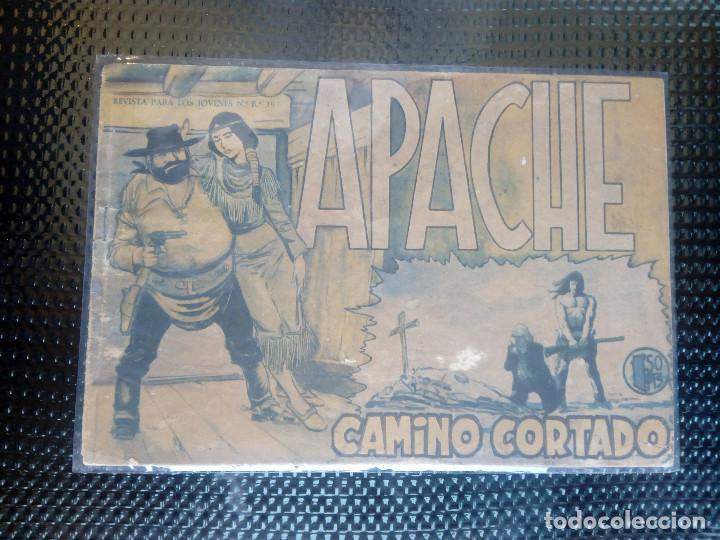 APACHE Nº 9 - ORIGINAL- EDT. MAGA 1958 ( M-5) (Tebeos y Comics - Maga - Apache)