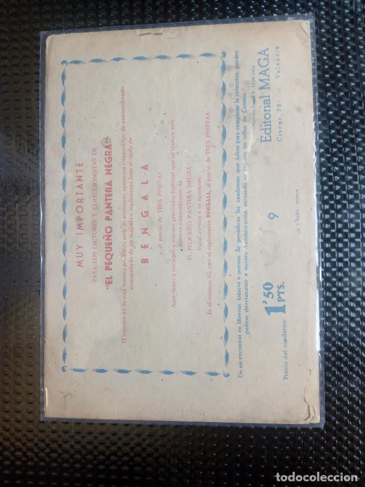 Tebeos: APACHE Nº 9 - ORIGINAL- EDT. MAGA 1958 ( M-5) - Foto 2 - 131856806