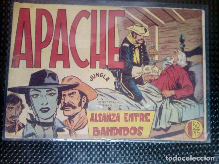 APACHE Nº 12 - ORIGINAL- EDT. MAGA 1958 ( M-5) (Tebeos y Comics - Maga - Apache)