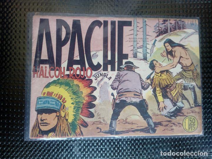APACHE Nº 13 - ORIGINAL- EDT. MAGA 1958 ( M-5) (Tebeos y Comics - Maga - Apache)