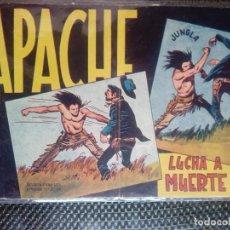 Tebeos: APACHE Nº 15 - ORIGINAL- EDT. MAGA 1958 ( M-5). Lote 131857894