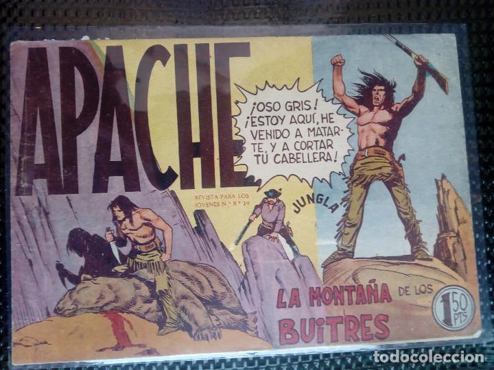 APACHE Nº 16 - ORIGINAL- EDT. MAGA 1958 ( M-5) (Tebeos y Comics - Maga - Apache)