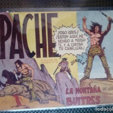 Tebeos: APACHE Nº 16 - ORIGINAL- EDT. MAGA 1958 ( M-5). Lote 131858202