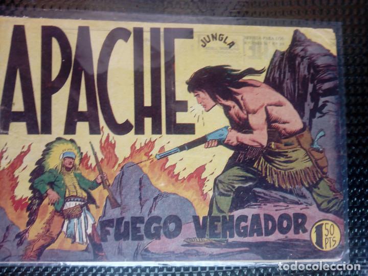 APACHE Nº 17 - ORIGINAL- EDT. MAGA 1958 ( M-5) (Tebeos y Comics - Maga - Apache)