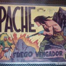 Tebeos: APACHE Nº 17 - ORIGINAL- EDT. MAGA 1958 ( M-5). Lote 131858582