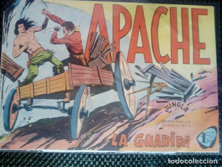 APACHE Nº 22 - ORIGINAL- EDT. MAGA 1958 ( M-5) (Tebeos y Comics - Maga - Apache)