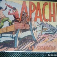 Tebeos: APACHE Nº 22 - ORIGINAL- EDT. MAGA 1958 ( M-5). Lote 131859346