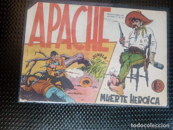APACHE Nº 23 - ORIGINAL- EDT. MAGA 1958 ( M-5) (Tebeos y Comics - Maga - Apache)