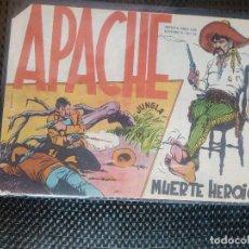 Tebeos: APACHE Nº 23 - ORIGINAL- EDT. MAGA 1958 ( M-5). Lote 131859594