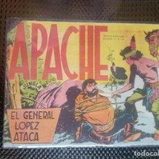 Tebeos: APACHE Nº 24- ORIGINAL- EDT. MAGA 1958 ( M-5). Lote 131859898
