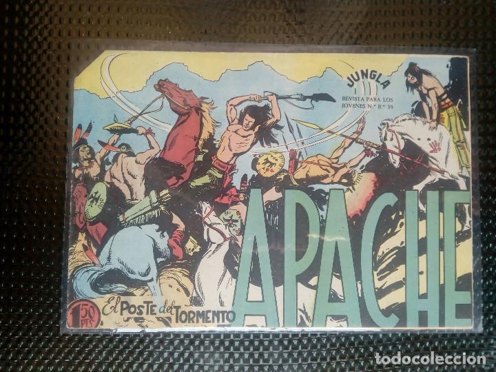 APACHE Nº 27- ORIGINAL- EDT. MAGA 1958 ( M-5) (Tebeos y Comics - Maga - Apache)