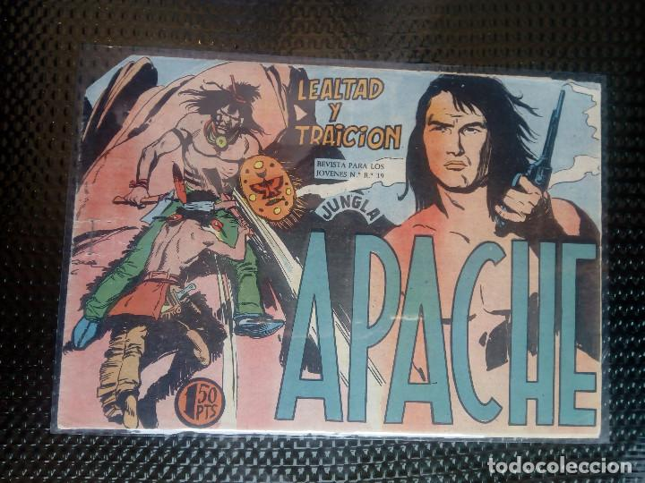 APACHE Nº 28 - ORIGINAL- EDT. MAGA 1958 ( M-5) (Tebeos y Comics - Maga - Apache)