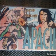 Tebeos: APACHE Nº 28 - ORIGINAL- EDT. MAGA 1958 ( M-5). Lote 131901406