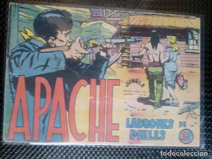 APACHE Nº 30 - ORIGINAL- EDT. MAGA 1958 ( M-5) (Tebeos y Comics - Maga - Apache)