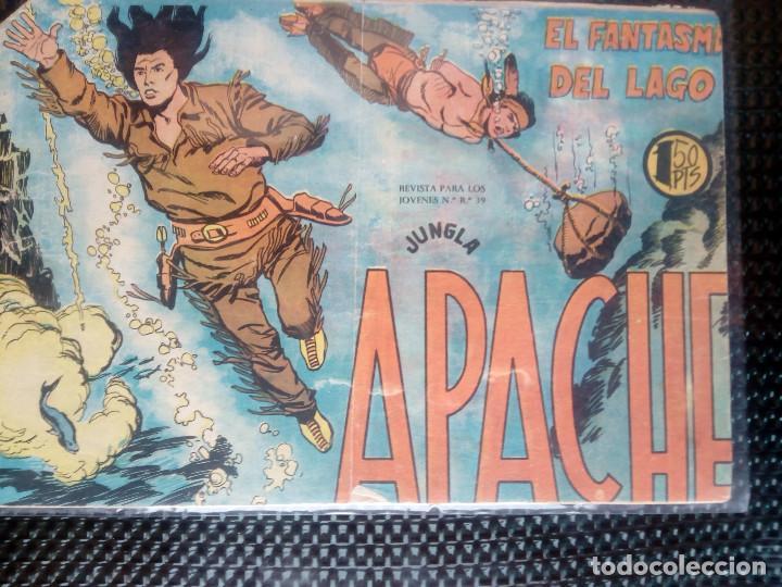 APACHE Nº 34 - ORIGINAL- EDT. MAGA 1955 ( M-5) (Tebeos y Comics - Maga - Apache)
