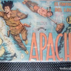 Tebeos: APACHE Nº 34 - ORIGINAL- EDT. MAGA 1955 ( M-5). Lote 131902482