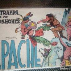 Tebeos: APACHE Nº 36 - ORIGINAL- EDT. MAGA 1955 ( M-5). Lote 131920986
