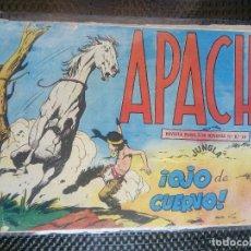 Tebeos: APACHE Nº 39 - ORIGINAL- EDT. MAGA 1958 ( M-5). Lote 131921238