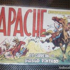 Tebeos: APACHE Nº 40 - ORIGINAL- EDT. MAGA 1958 ( M-5). Lote 131921478