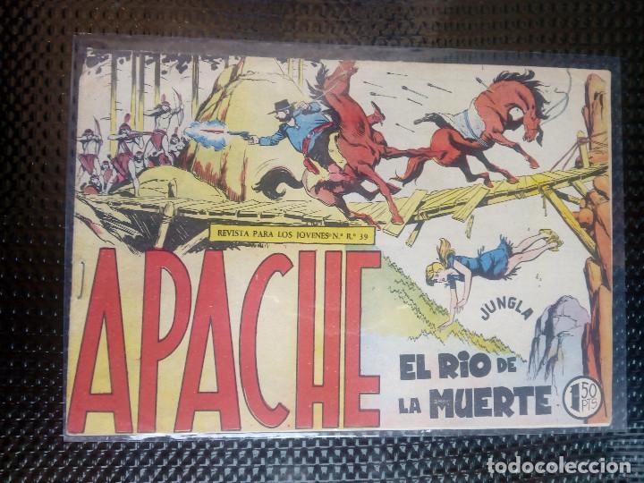 APACHE Nº 42 - ORIGINAL- EDT. MAGA 1958 ( M-5) (Tebeos y Comics - Maga - Apache)