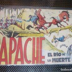 Tebeos: APACHE Nº 42 - ORIGINAL- EDT. MAGA 1958 ( M-5). Lote 131921766