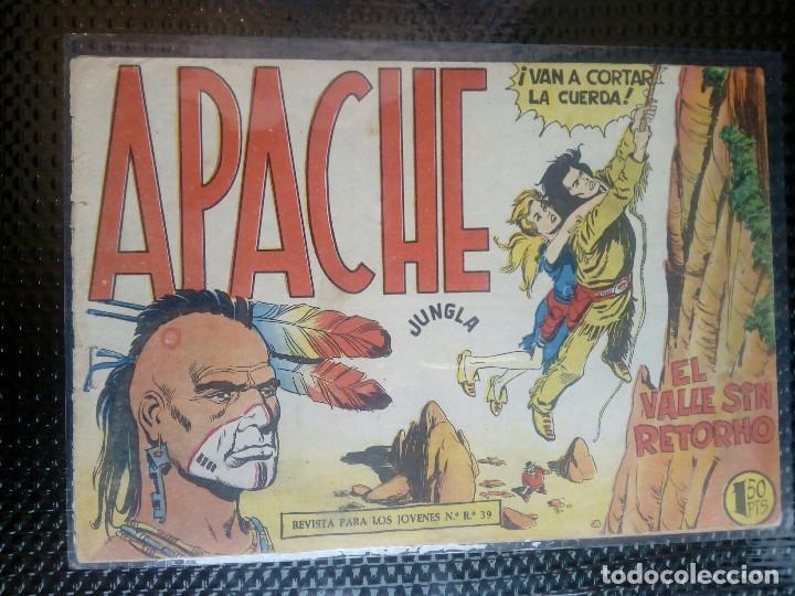 APACHE Nº 43 - ORIGINAL- EDT. MAGA 1958 ( M-5) (Tebeos y Comics - Maga - Apache)