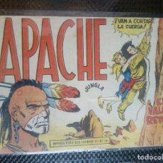 Tebeos: APACHE Nº 43 - ORIGINAL- EDT. MAGA 1958 ( M-5). Lote 131922102