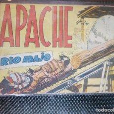 Tebeos: APACHE Nº 45 - ORIGINAL- EDT. MAGA 1958 ( M-5). Lote 131922414