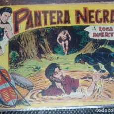 Tebeos: PANTERA NEGRA Nº 6 - ORIGINAL MAGA 1955 ( M-5). Lote 131924262