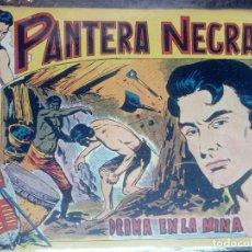 Tebeos: PANTERA NEGRA Nº 11 - ORIGINAL MAGA 1958 ( M-5 ). Lote 131924678